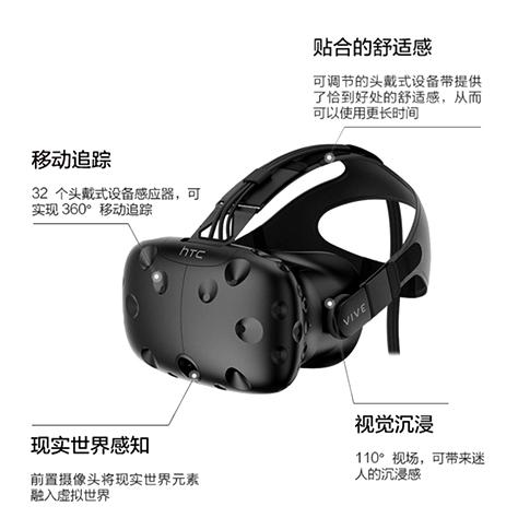 HTC VIVE VR头盔活动设备套餐
